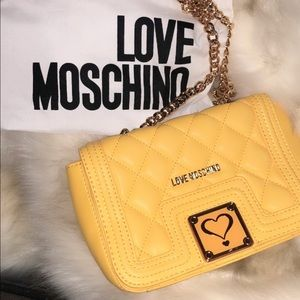 Moschino Crossbody Quilted Bag
